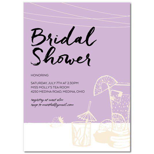 #bridal shower  Champagne Bridal Shower Invitations