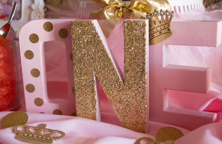 Pink and Gold Birthday Party Ideas | Photo 3 of 30