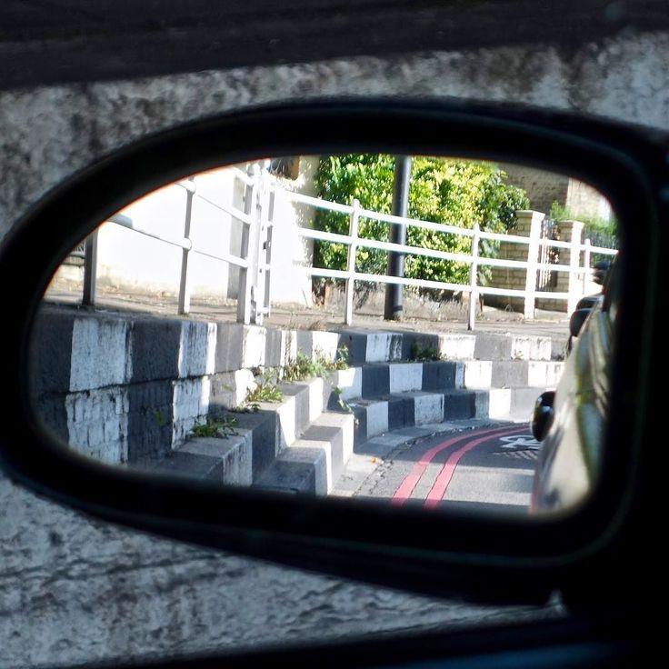 #car #mirror #chicane