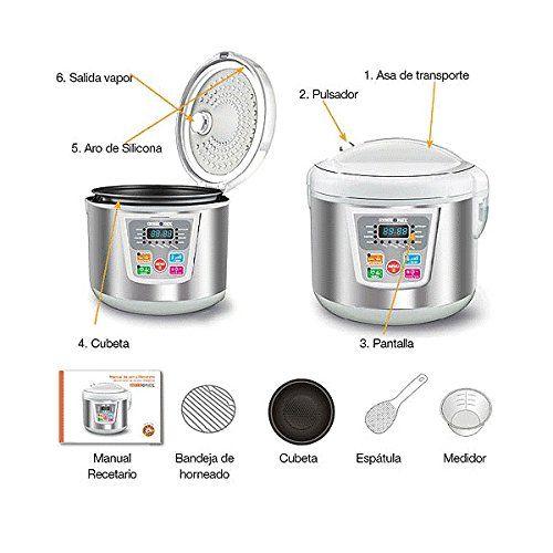 Chollo Robot de cocina Cookeomatic por sólo 33.95€ y envío gratuito