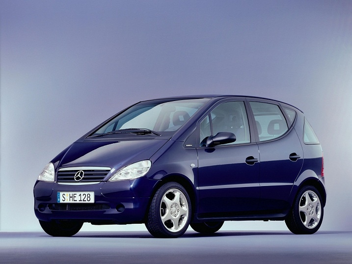 Mercedes A-Class (2000 – 2004).I had an A140 and it couldn't pull gum off a sidewalk!
