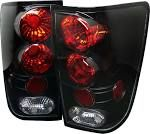 2005 Nissan Titan Tail Light, Spyder 5007025, Clear Lens ...
