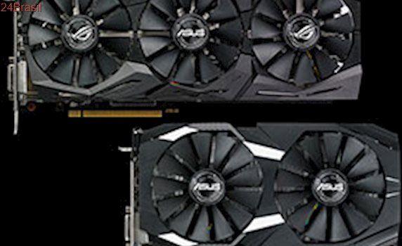 Apresentando as placas de vídeo ROG Strix RX 580 e RX 570