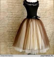 Znalezione obrazy dla zapytania sukienki tiulowe