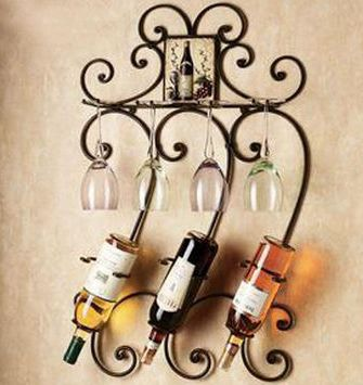 Iron Wine Racks                                                       …