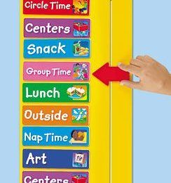 Great info on setting up a fluid/flexible schedule for your Autism preschool classroom.