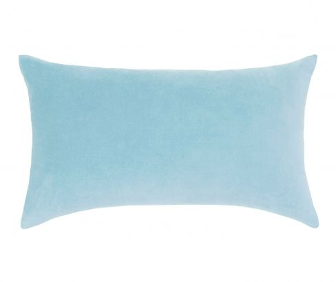 Lewis Velvet Aqua Breakfast Cushion #pastels