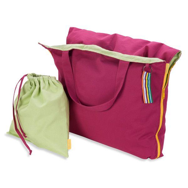 Skládací lehátko Hhooboz 150x62 cm, růžové | Bonami