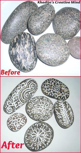 DIY Stones Design Art
