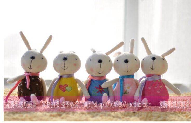 Около 30 см прекрасный кролик плюшевые игрушки кролик кукла свадебные подарки подарок ребенку w4695