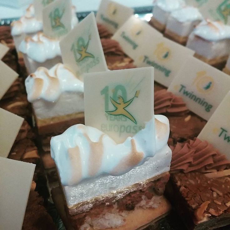 #Europass10Years - look at these cute little #Europass cakes from Iceland!
