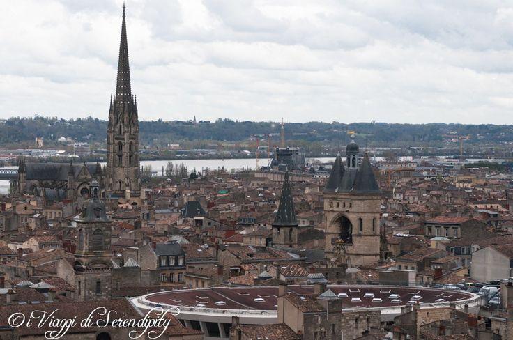 Bordeaux vista dalla torre Pey Berland
