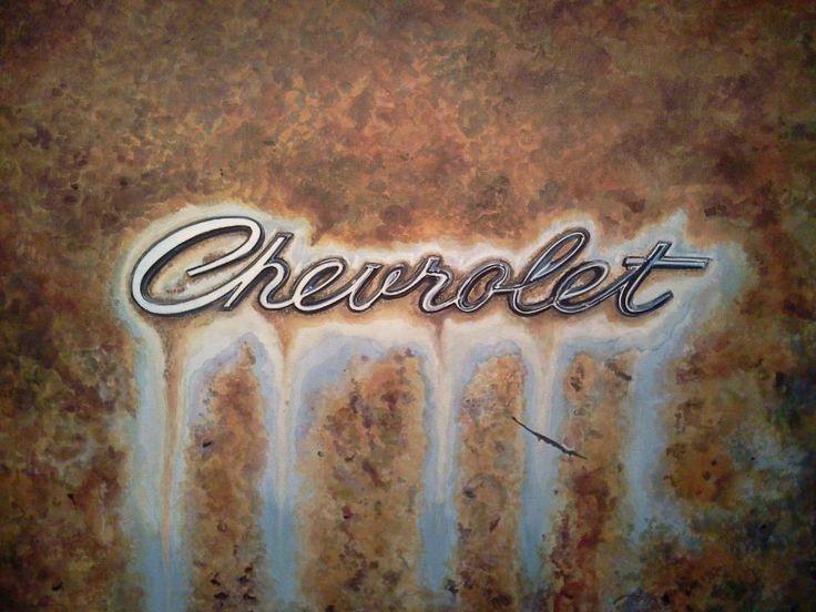 I love old Chevy Trucks : )