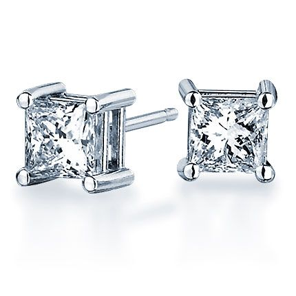 Blue Nile Giveaway: Win Diamond Stud Earrings in Platinum