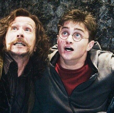 .Harry and Sirius <3