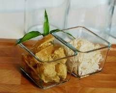 Poulet aux pousses de bambou, gingembre et lait de coco