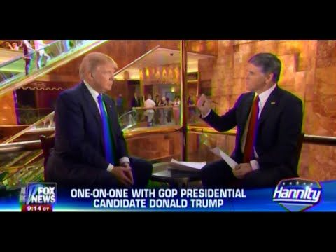 Two very vile men.  • Donald Trump • One On One • Hannity • 6/17/15 • - YouTube