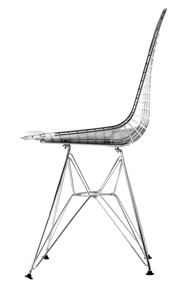 Replica eames wire chair by charles and ray eames matt for Vitra eames lounge chair replica