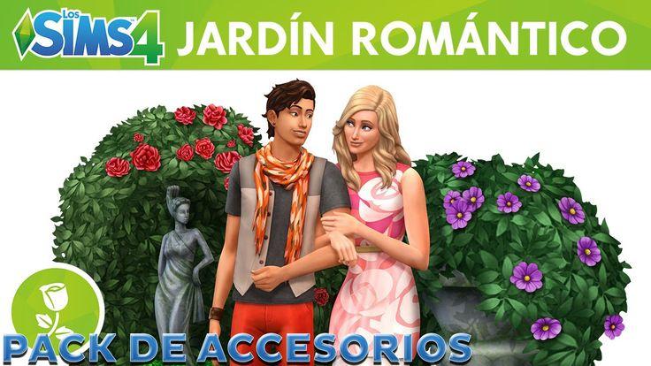 LOS SIMS 4 Jardín Romántico Pack de Accesorios   INFO