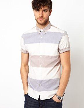 Image 1 ofASOS Stripe Shirt