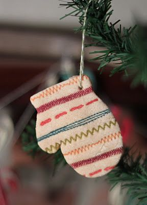 Little Bay Stampin': 12 Days of Christmas Ornaments Day 12 - Stamped Salt Dough Ornaments