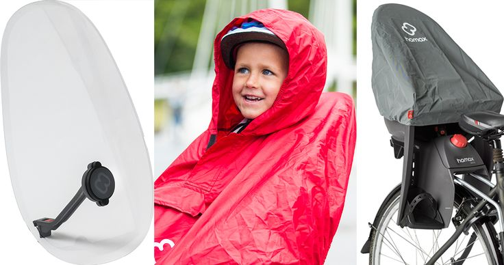 Here's your Hamax guide to weatherproof your child bike seat so you can take a bike ride even when the skies aren't so sunny.