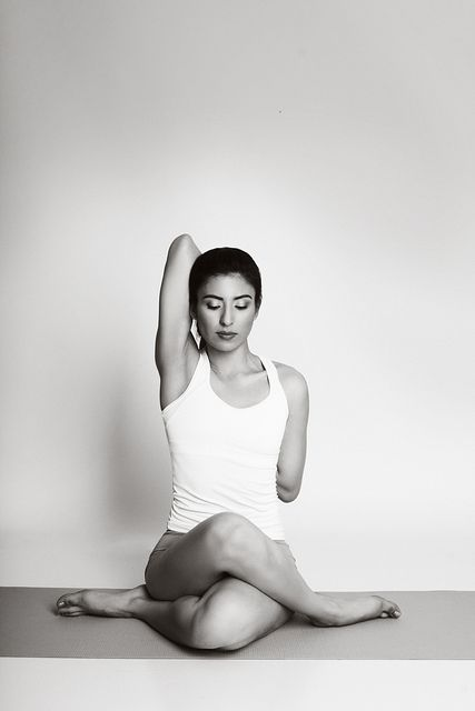 Gomukhasana (Cow Face Pose)