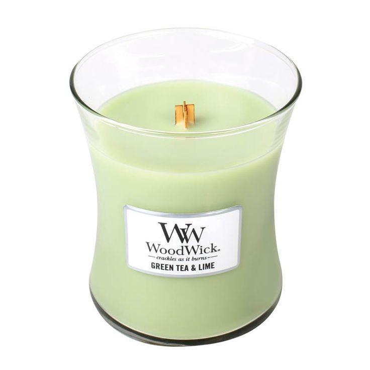 Woodwick Green Tea & Lime