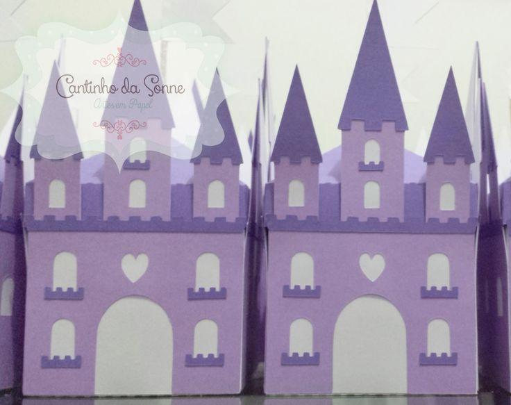 Cantinho da Sonne - cantinhodasonne@hotmail.com: Caixinha Castelo da Princesa Sofia