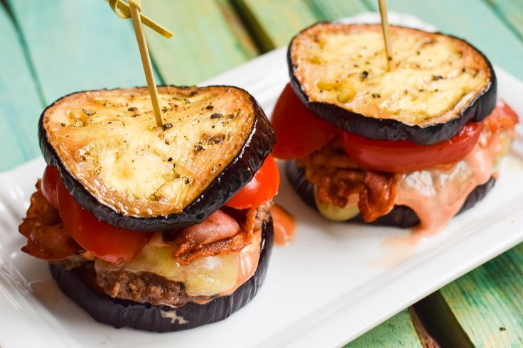 Super leckerer Low Carb Bacon Cheese Burger