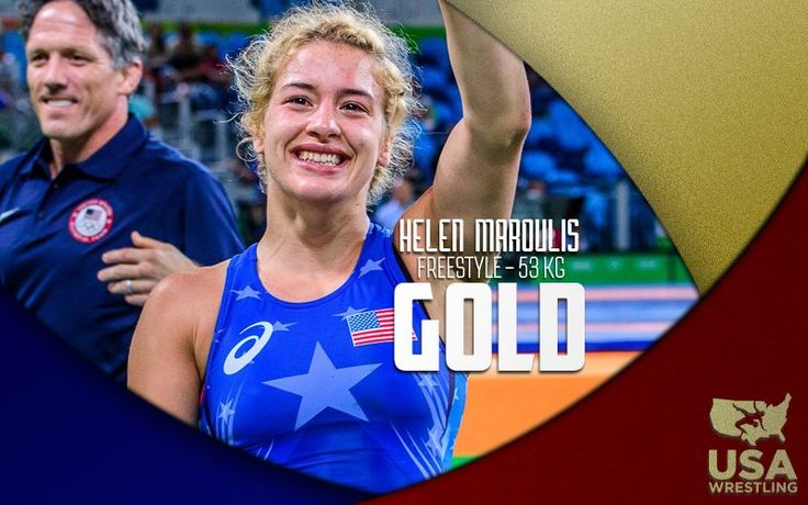 U.S. Olympic Team Retweeted  USA Wrestling ‏@USAWrestling  Aug 18 Helen Maroulis makes history! First Olympic gold in women's wrestling for @TeamUSA! 4-1 over Saori Yoshida!