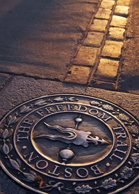 Make sure you take a tour with the Freedom Trail while you visit Boston.