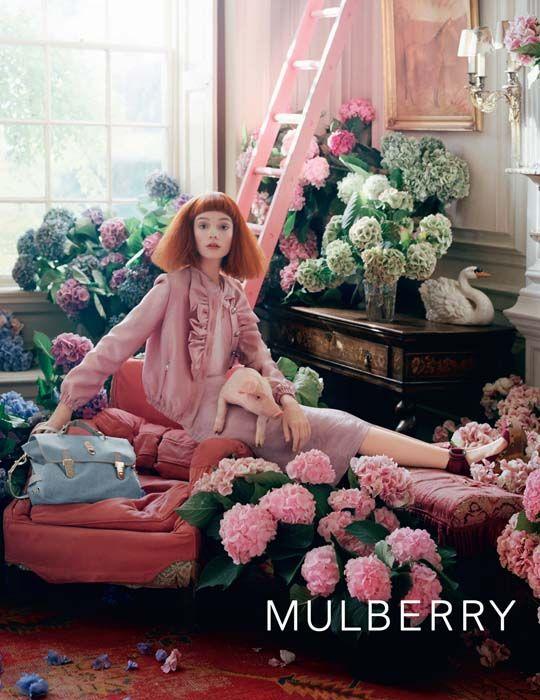 mulberry campaign. piggy!