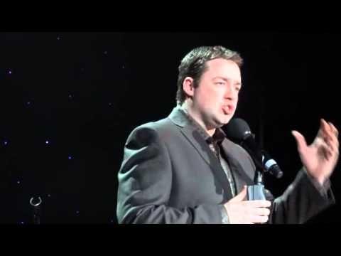 "Jason Manford sings ""Stars"" at Alfie Boe Concert Preston Guild Hall 03/02/12"