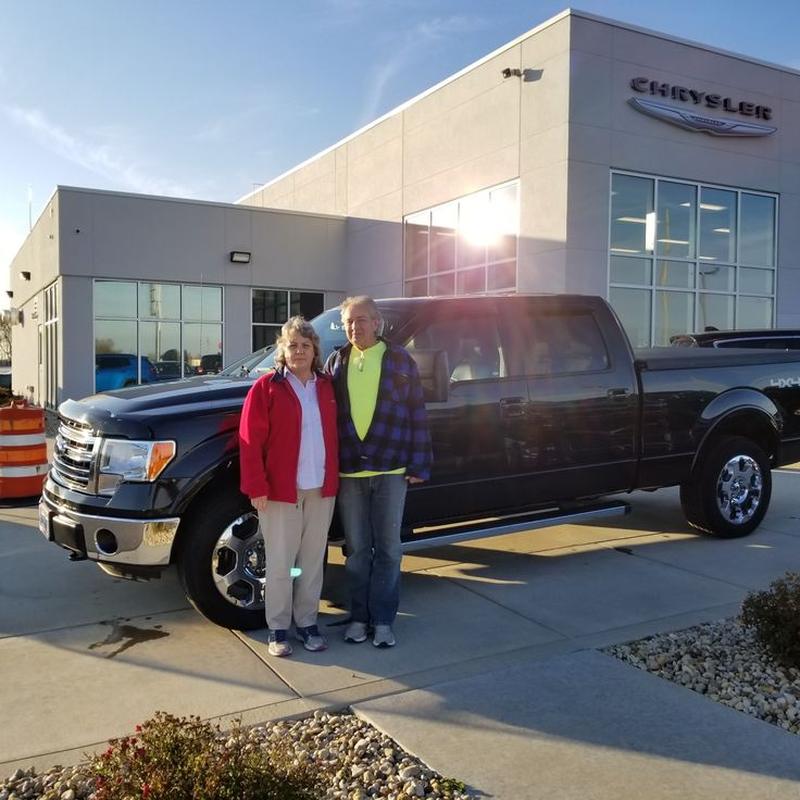 Rhonda and Mike  traded in a 2003 Jeep Grand Cherokee on a 2014 F150. Congratulations Mike and Rhonda. We appreciate the opportunity to earn your business and We Love to See You Happy!  - Julie