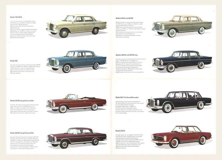 1963/64 Mercedes-Benz Brochure I OldBrochures.com