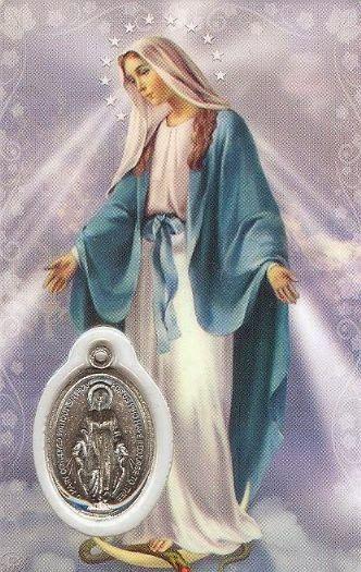 Oracion a la VIRGEN DE LA MEDALLA MILAGROSA