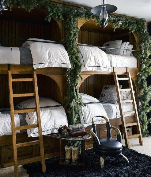 Bunk Room With 6 Beds Bunk Bed Inspiration Bunk Room Ideas Cool Kids Bedrooms Bunk Beds Kids Bedroom Furniture