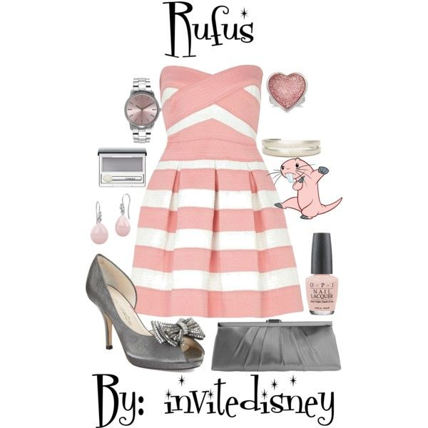 """Rufus"" by invitedisney on Polyvore"