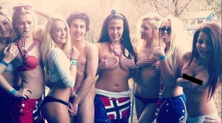 Με στριπτίζ, σεξ σε δημόσιο χώρο και αλκοόλ γιορτάζουν την αποφοίτηση στη Νορβηγία