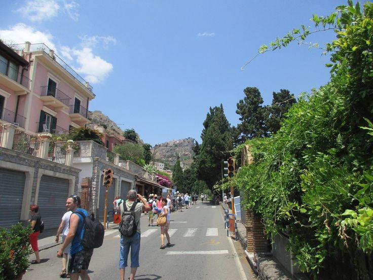 V Taormině na Sicílii