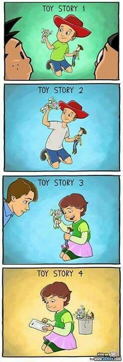 Toy Story till the end