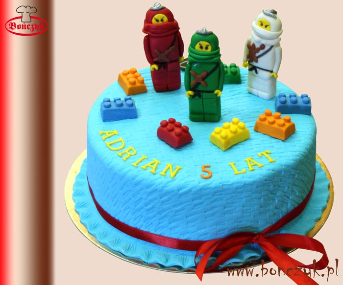 #ninjago; #lego; #cake; #tort; #dzieci; www.bonczyk.pl