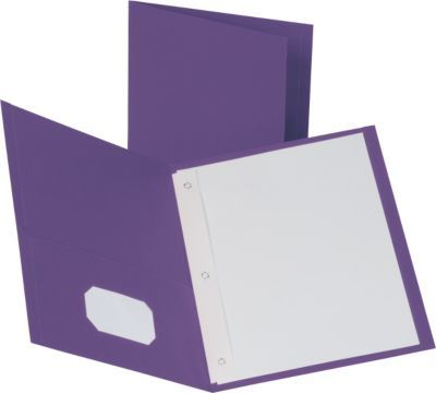 Shop Staples® for Staples® School Grade 2 Pocket Folder with Fasteners, Purple, 25/Box and enjoy everyday low prices, plus FREE shipping on orders over $29.99. Get everything you need for a home office or business right here.