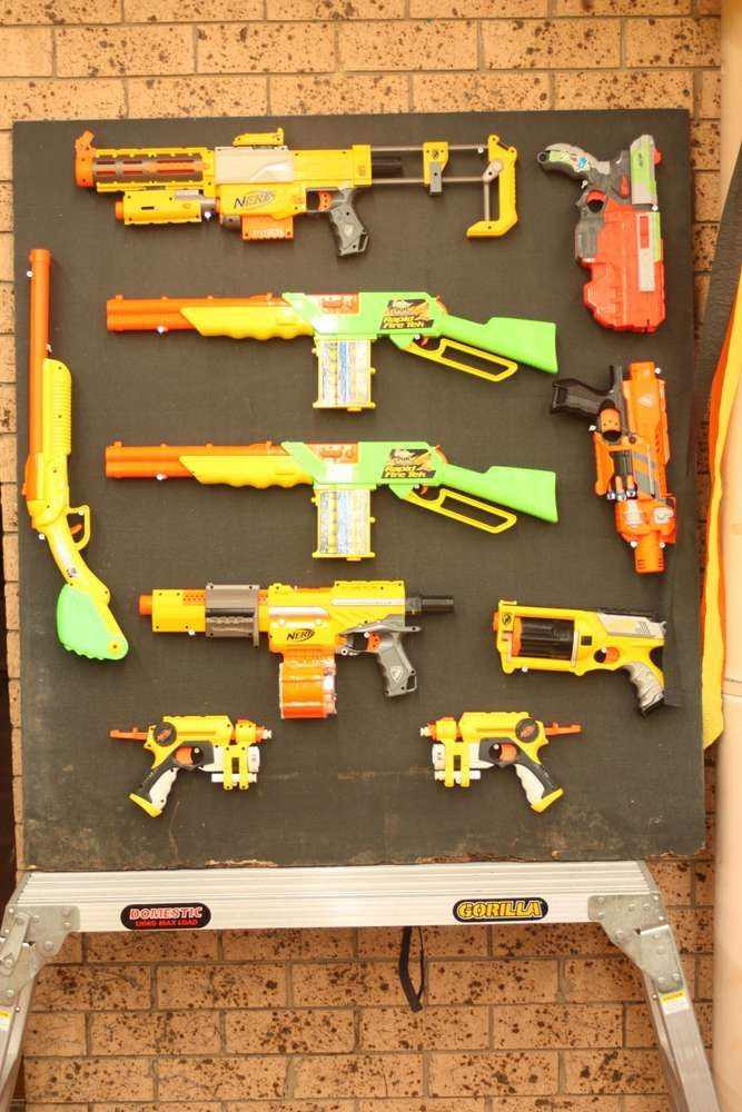 Nerf Wars Birthday Party Ideas | Photo 1 of 77 | Catch My Party