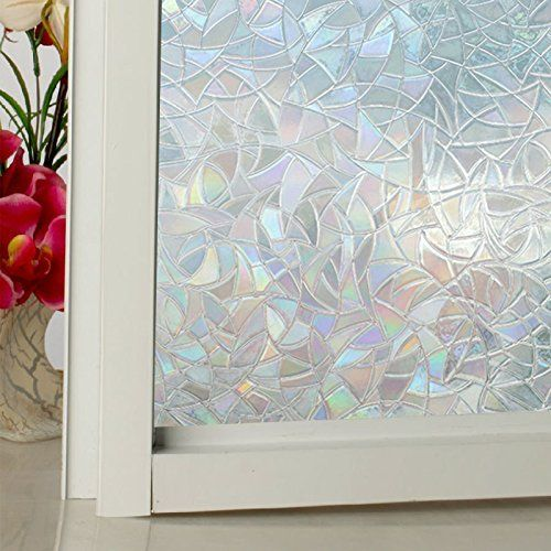 3D Decorative Privacy Window Film Static Cling Color Effect