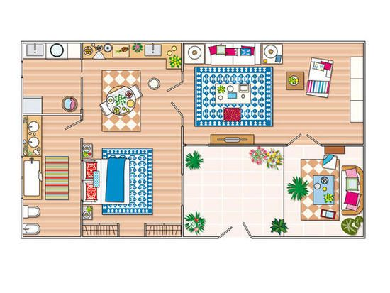 ¿Tenéis pensado hacer alguna reforma en casa? Aquí tenéis una práctica selección de planos de apartamentos para ¡copiar sus ideas!