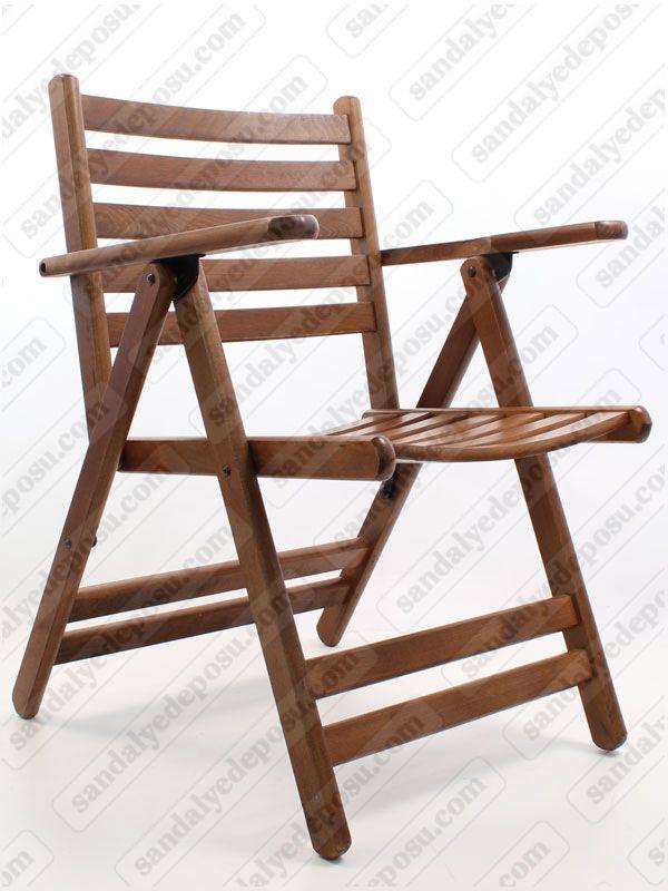 Londra katlanır ahşap sandalye