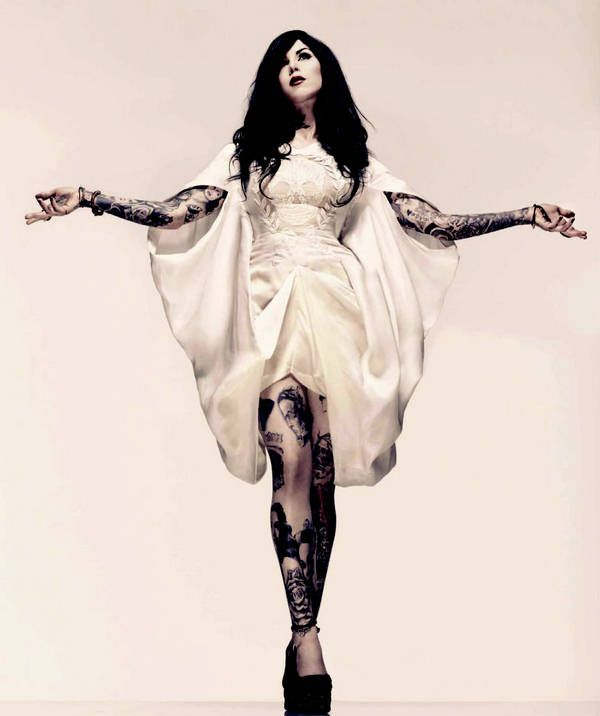 Kat Von D Photo Shoots | Thread: Kat von D, Inked Magazine, February 2010