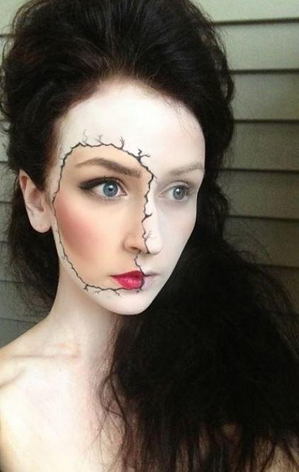 Ecco a Voi 25 foto di proposte per il trucco di Halloween sia da donna che da uomo, tante idee di make up occhi e viso da strega, da zombie cono senza fer